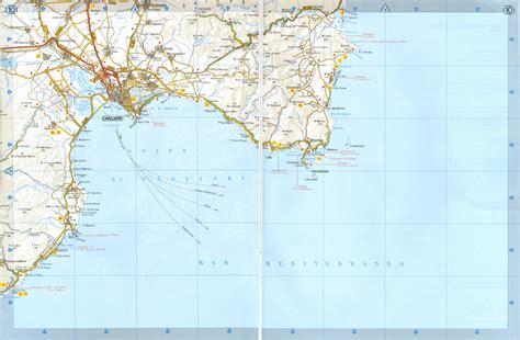 printable road map of sardinia cartina sardegna geografica dettagliata e stradale della