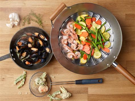 Kitchen Essentials Food Network Food Network 8 New Things To Cook In A Wok Cooking