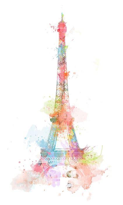 eiffel tower color eiffel tower in color color me happy