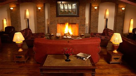 Fireplace Lounge by Arusha Coffee Lodge Arusha Tanzania