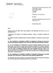 Universal Credit Confirmation Letter In 2013 Universal Jobmatch To Be Mandatory Securing Your Rights On Welfare To Work Fare