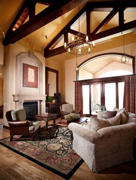 Vaulted Ceiling Living Room Design 125 Living Room Design Ideas Focusing On Styles And Interior D 233 Cor Details 171 Page 4
