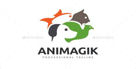 family pet store logo template logo templates creative 13 animal logo design templates free premium vectors