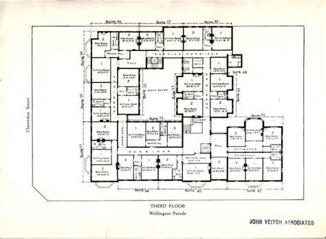 melbourne house plans east melbourne ca 1925 30 cliveden mansions brochure