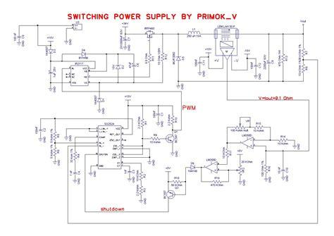 schema alimentatore switching infoportal it leggi argomento alimentatore switching