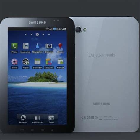 Samsung Tab 2 P1000 samsung p1000 galaxy tablet 3d model 3d model sharecg