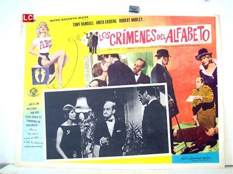 los crmenes del abecedario quot los crimenes del alfabeto quot movie poster quot the alphabet murders quot movie poster
