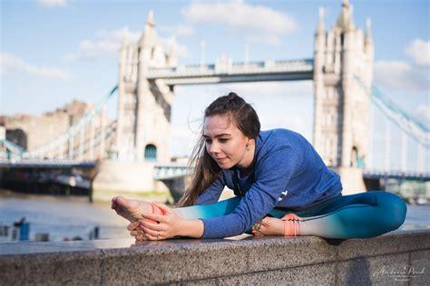 sabines yoga photoshoot  london