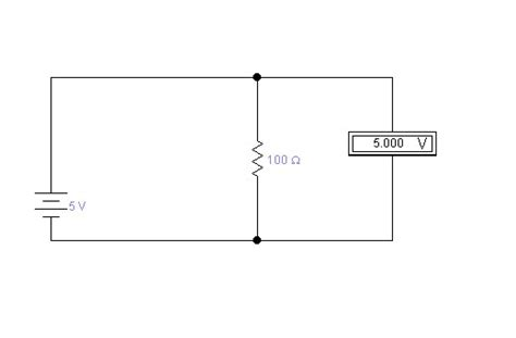 mili ohm resistor why does measuring the voltage drop across a thing not simply measure the battery voltage