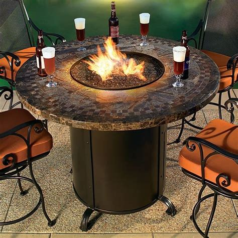 Floor And Decor Tempe by Contessa Round Outdoor Fire Pit Table Chicago By Home