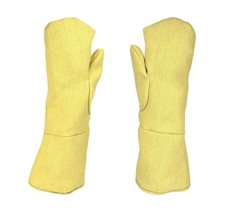 18 quot heat resistant kevlar 174 mittens saf 0052 pmc supplies