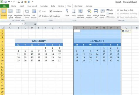 format excel year how to create year and school calendar with dynamic date