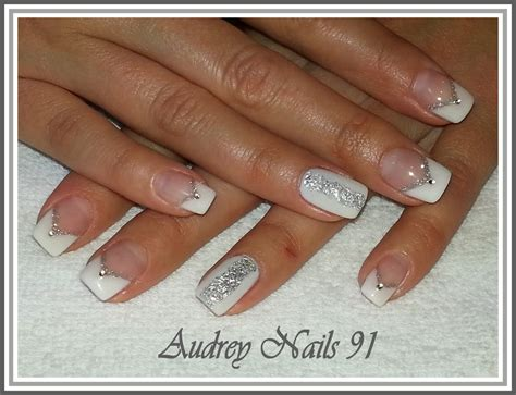 Id E D Co Ongle Blanche by Deco Ongle Blanc Et Argent 28 Images Deco Ongles Blanc