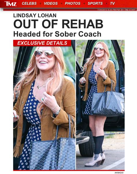 Lindsay Lohan And Away The Rehab by Lindsay Lohan Leaves Rehab After 3 Months Business Insider