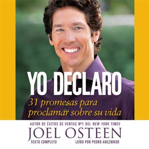 amazon com joel osteen audible audio edition libros en espa 241 ol books