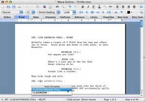 movie outline 3 scriptwriting software have a at
