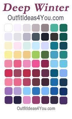 how to create your personal color palette plus take our 1000 ideas about deep winter colors on pinterest deep