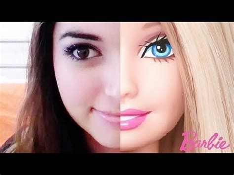 tutorial makeup natural barbie barbie inspired makeup tutorial youtube