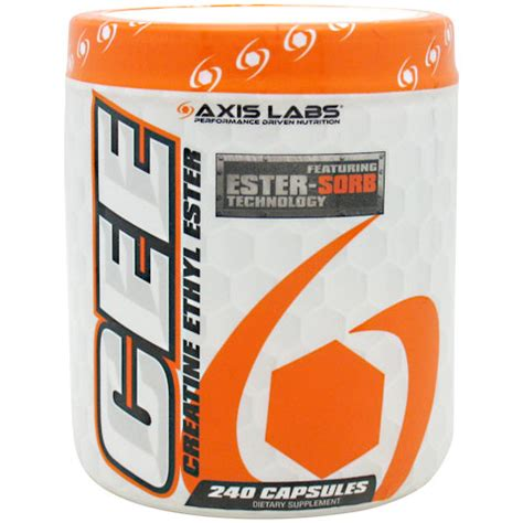 15 g creatine a day creatine ethyl ester 240 capsules axis labs day of