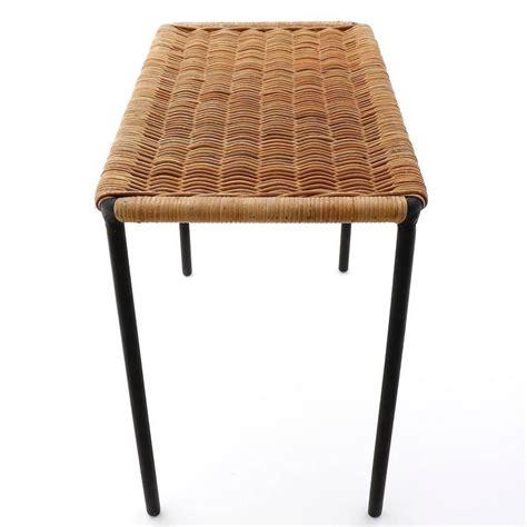 Rattan Table L Wicker Table L Shop Compamia Miami Wickerlook 21 In W X 36 In L Rectangle Wicker Coffee Table