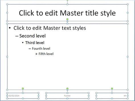 cara membuat powerpoint dengan menggunakan slide master cara membuat template presentasi powerpoint dengan slide