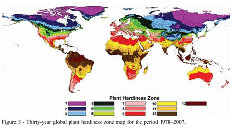 Gardening Zones Uk - temperate climate permaculture plant hardiness zones maps for the world
