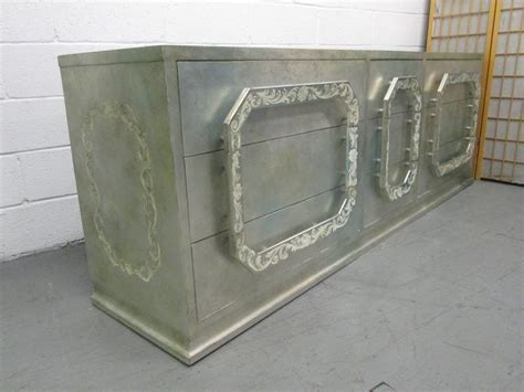 Silver Leaf Dresser by Silver Leaf Dresser In The Style Of Mont For Sale At