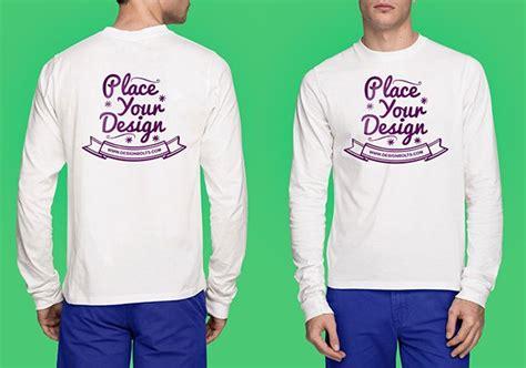 Blouse Kaos Eifell Longsleeve White Putih 16 free t shirt mock up templates september 2015 edition