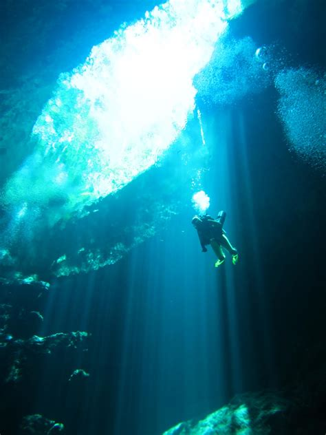 the pit cenote the pit diving tour tulum mexico aguaclaraproject