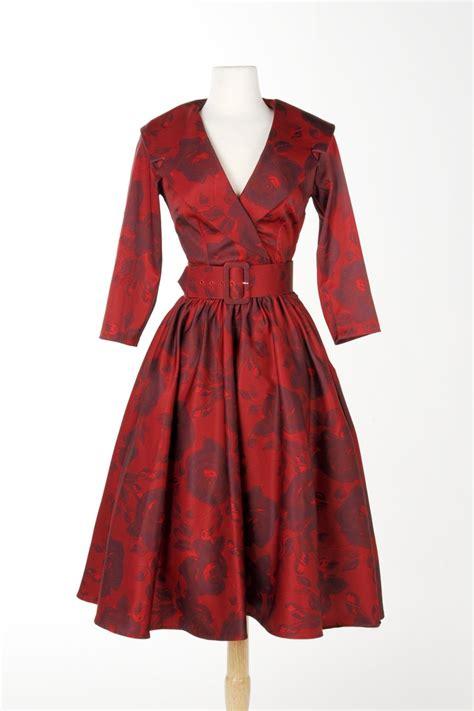 Birdie Dress birdie dress in meredith satin with three quarter