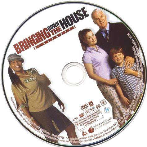 bringing down the house bringing down the house 2003 ws r1 movie dvd cd label dvd cover front cover