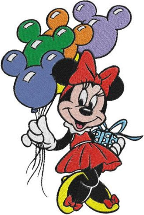 minnie mouse machine embroidery design 0027 by