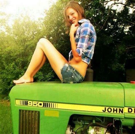 girls on john deere tractors 99 best girls with tractors images on pinterest tractors