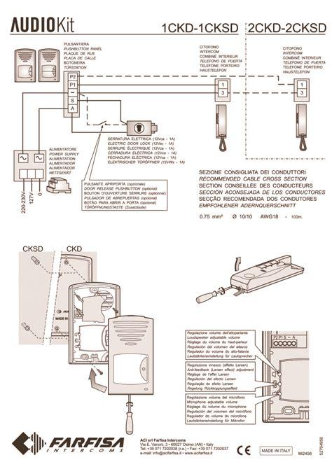 farfisa door entry wiring diagrams door hardware parts
