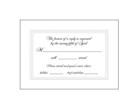 invitation wordings rsvp