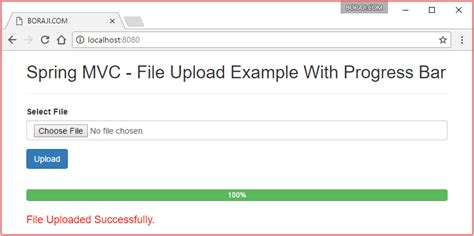 spring 4 mvc file upload exle file download progress bar driverlayer search engine