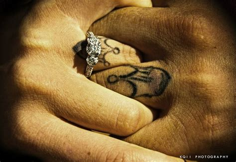 irish couple tattoos wedding ring tattoos claddagh tattoos