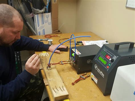 induction heating soldering iron using induction soldering ultraflex power