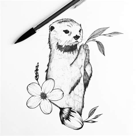 pen tattoo challenge the 25 best nature drawing ideas on pinterest sketches