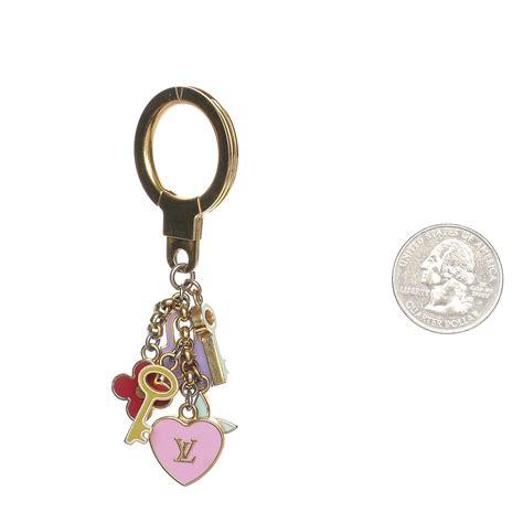Pretty Charms by Louis Vuitton Enamel Pretty Charms Key Ring Holder 208984