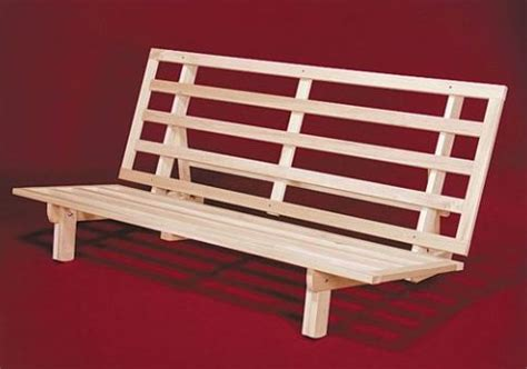 build futon frame wood futon frame diy woodplansfree