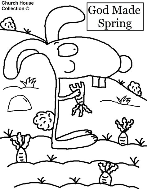 spring house coloring pages free coloring pages of god created the animals