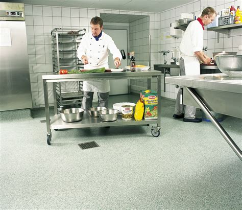 commercial kitchen flooring options types of kitchen flooring for commercial installation