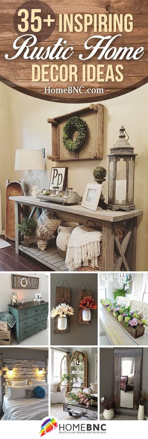 35 best rustic home decor ideas and designs for 2018