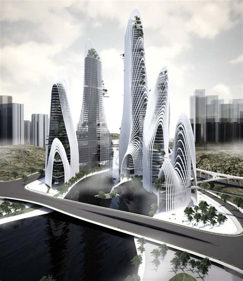 Architecture Concept by Shan Shui City Mad Architects Arch2o