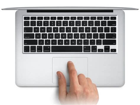 Trackpad Macbook Air trackpad brings inertial inverse scrolling and multitouch gestures of os x to windows on macs