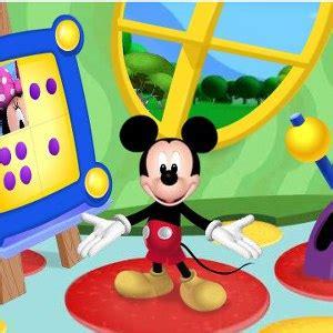 casa topolino cartoni animati con la l
