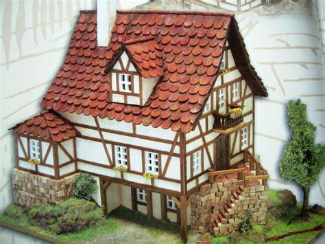 modellbau haus selber bauen steinhuser