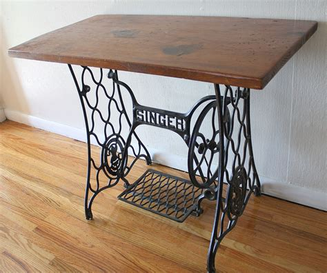 how much is a singer sewing machine table worth antique singer sewing machine iron table base with wood