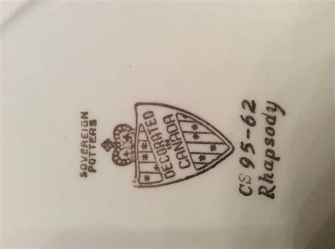 Bros Rhapsody snowhite johnson bros cs 95 62 rhapsody collectors weekly